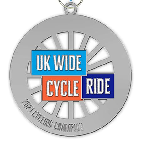 UK Wide Cycle Ride Medal