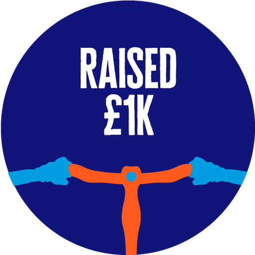 £1,000 Raised