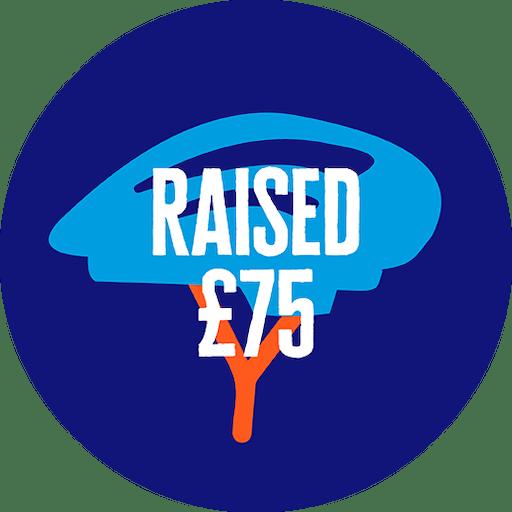 £75 raised
