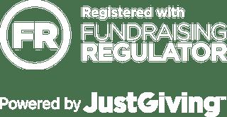 Fundraising Regulator & JustGiving logo