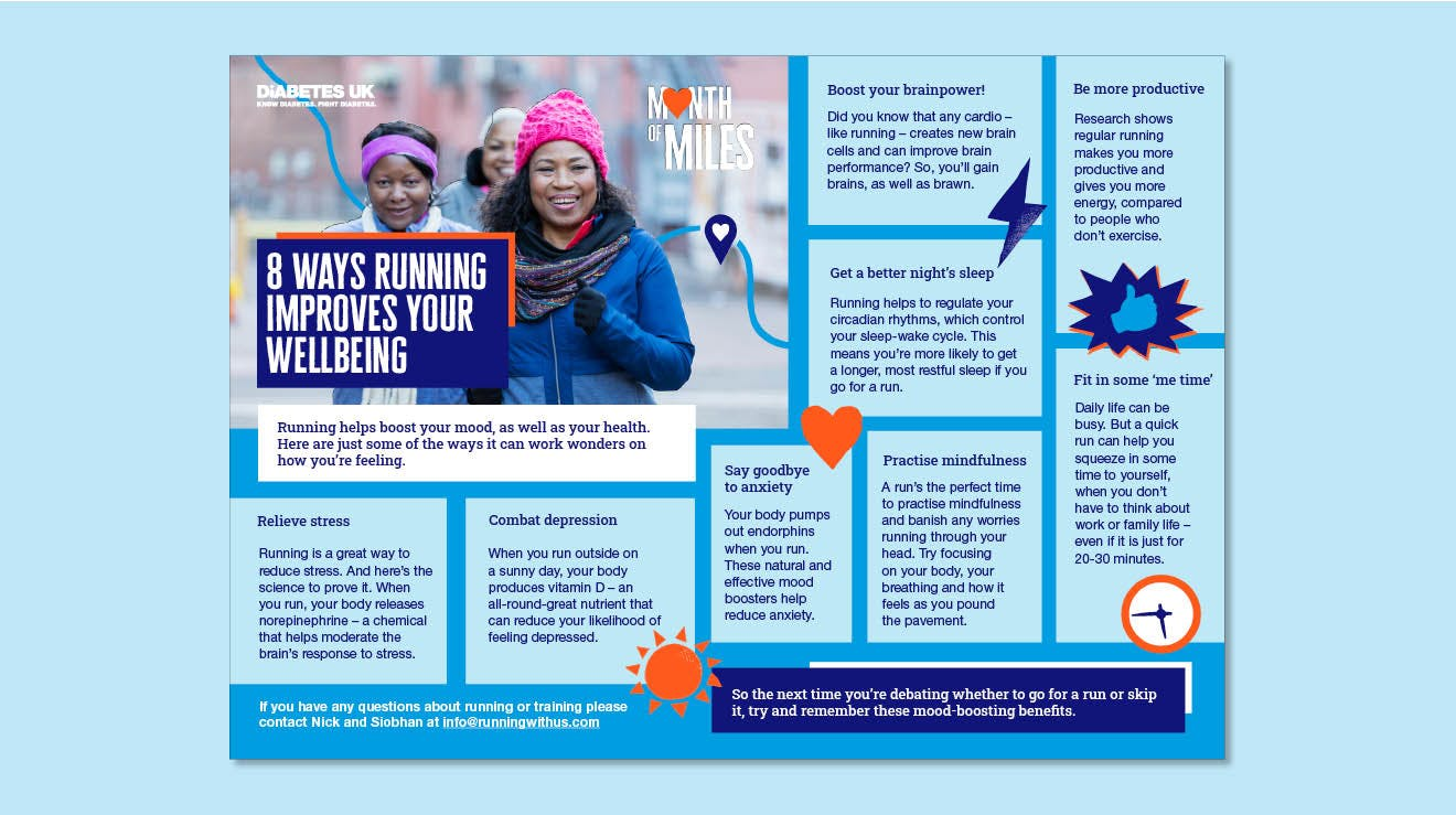8 ways running improves your wellbeing