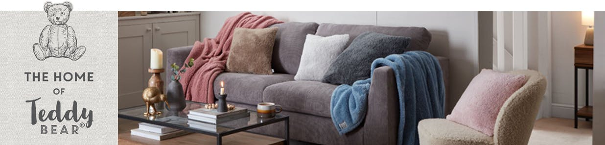 Our famous soft, fluffy texture, now in more colours, patterns and options