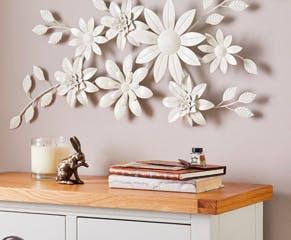 Vintage Floral Wall Art