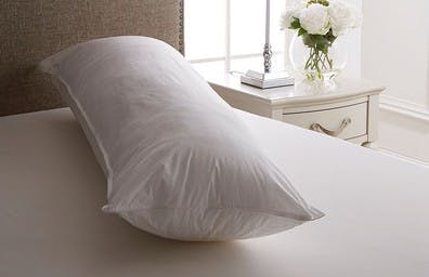 The extra  support pillow