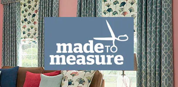 Speak to a Made to Measure consultant from the comfort of your own home