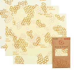 Pack of 3 Large Bees Wax Wraps