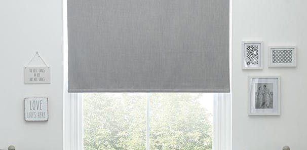 A roller blind can be fully open, closed or partially extended,  and are  made from a single piece of fabric and thickened or treated to provide  light control. Our ready-made roller blinds use a beaded or cordless   wand mechanism for easy extension and are supplied with all fixtures for  fitting along with a cord safety device and full installation  instructions. Roller blinds are available in a wide range of colours and  patterns.