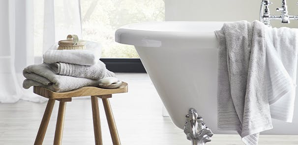Luxurious Tencel towels and more, from £2