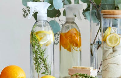 3 EASY CLEANING SPRAY RECIPES