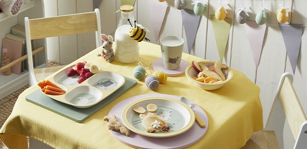 The prettiest pastels and cute animal motifs