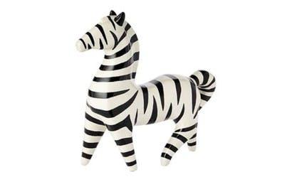Zebra Resin Sculpture