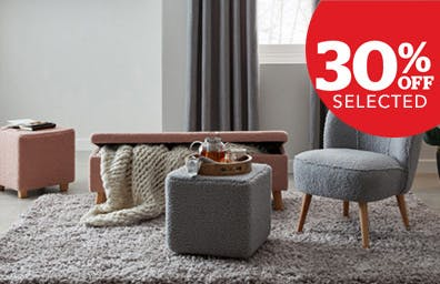 Stay cosy with 30% off selected