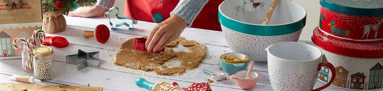 Create homemade treats ready for Santa