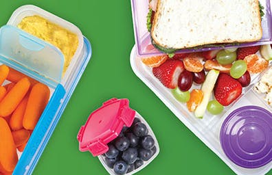 Food storage solutions for people on to go