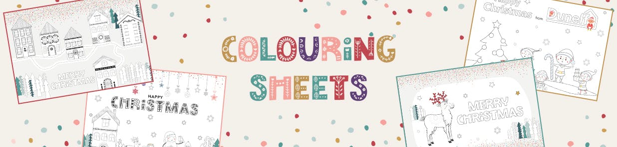 COLOURING ACTIVITY SHEETS