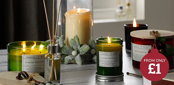Welcome the senses with lovely scents