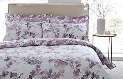 Honesty Mauve Bedding Collection