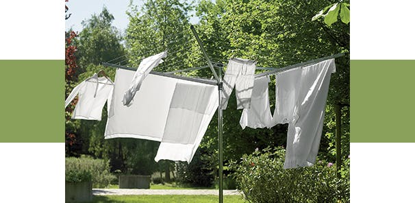 Take the easy, breezy route with your drying