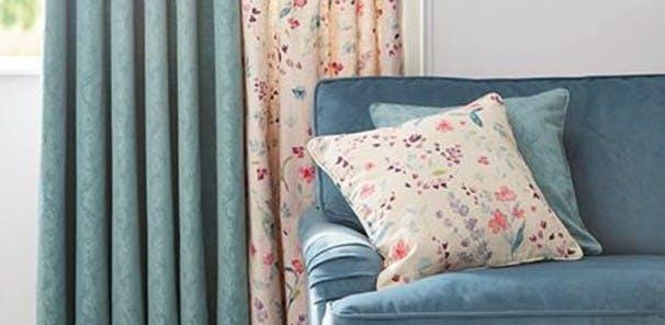 Standard curtain sizes (cm): Widths 117, 168, 228 x Lengths 137, 182, 228
