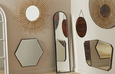 HOW TO HANG LARGE MIRRORS AND FRAMES