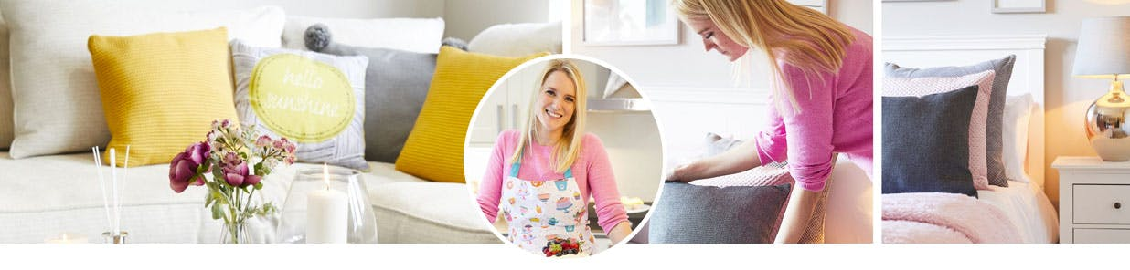 We caught up with Chloe to discuss her home style, love of baking, hosting Macmillan Coffee Mornings and living with cancer
