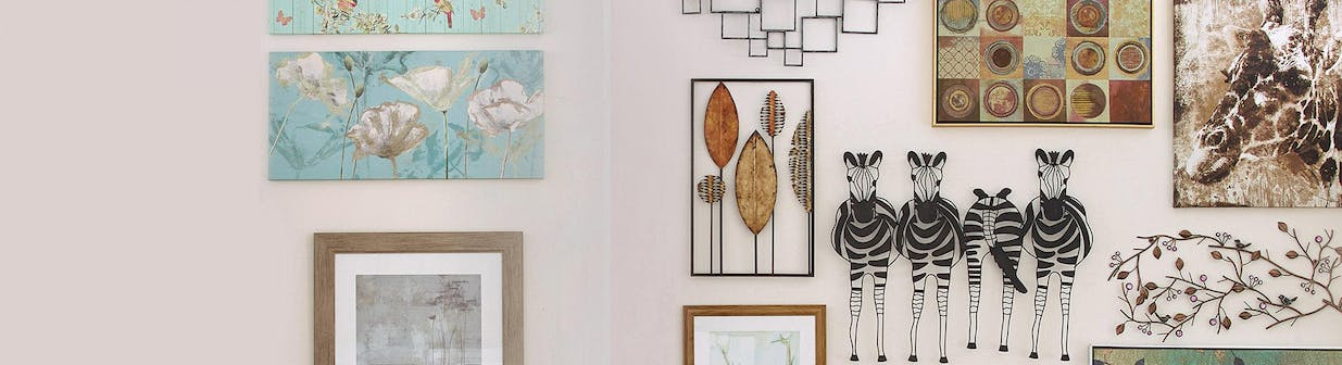 Up to 50% off selected Wall Art & Mirrors
