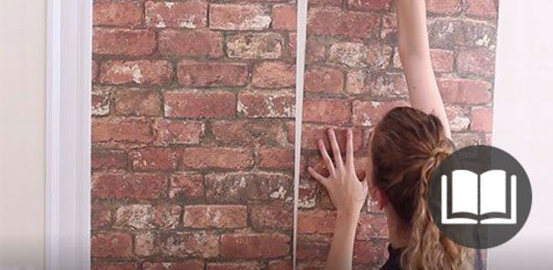 Hanging tips for paste-based handing to self-adhesive