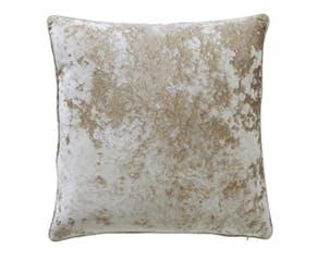 Crushed Champagne Cushion