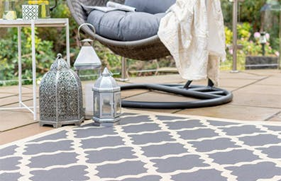 OUTDOOR RUGS ARE IN