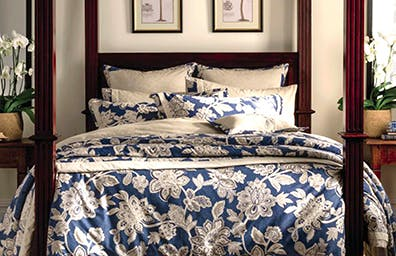 Dorma Samira Blue Bedding Collection