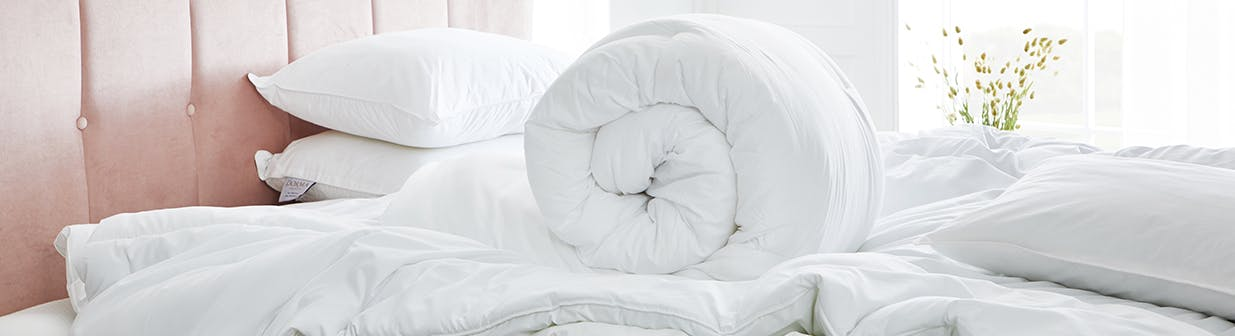 Dive into a duvet