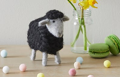 Woolly sheep decorations