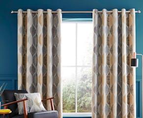 Elijah Jacquard Curtains