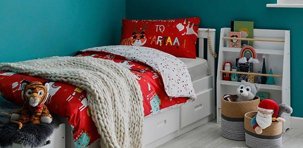 HOW MANY SLEEPS? FESTIVE BEDROOMS FOR KIDS