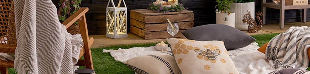 Picnics to movie nights, create an outdoor space you won't want to leave