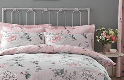 Heavenly Hummingbird Blush Bedding Collection