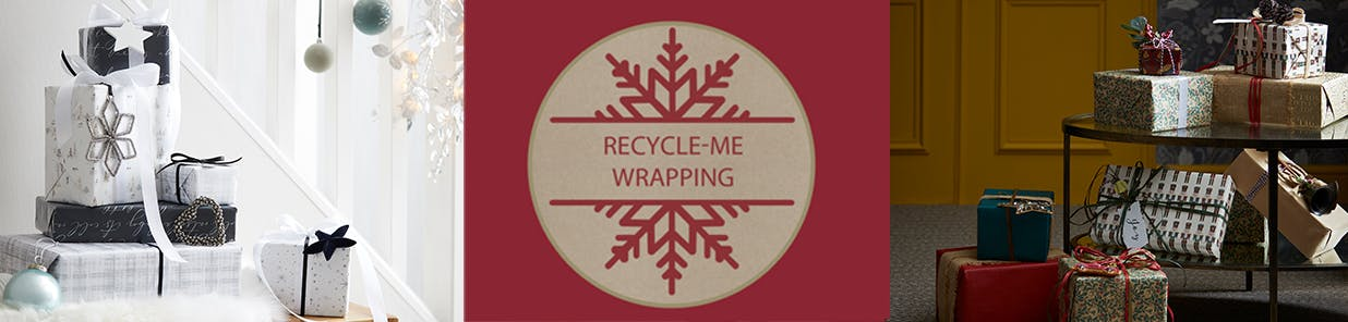 From paper to cards, bows, and tags, you can pop it all in the recycling