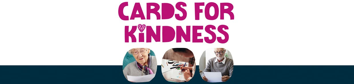 We don't want anyone to feel lonely, so we're asking you to help us brighten someone's day by writing them a letter or drawing them a picture. Pick up a card from a store or get the details from your local community group on Facebook, then post the letter in our in-store post box and we'll take care of the rest.