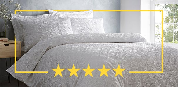 """""""Really lovely duvet cover that doesn't crease, very good value for money."""""""