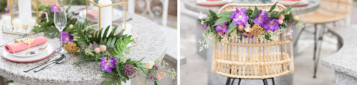 Personalise your wedding withunique decorations