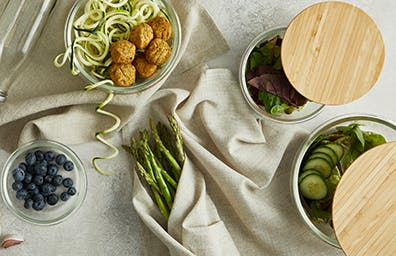 Keep your meal staples and leftovers fresh