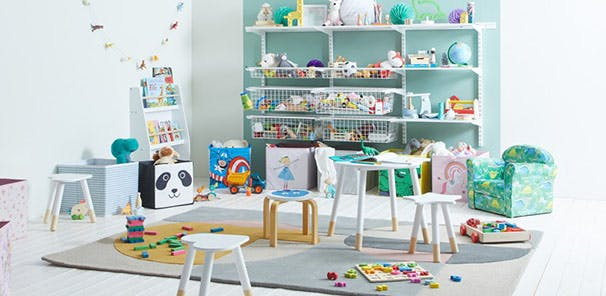 Simple storage tips for Kids Rooms