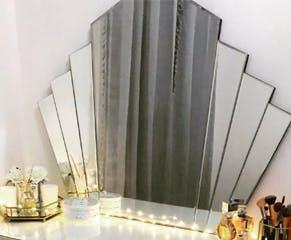 Deco Fan Mirror