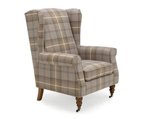 Oswald Grande Wingback Armchair
