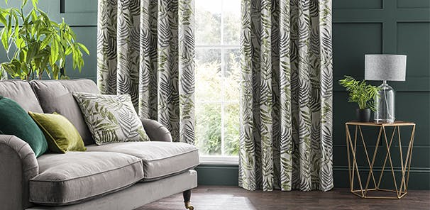 Tactile jacquard print in a choice of colours, from £60
