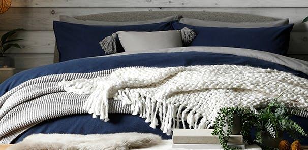 Cosier textures for maximum comfort