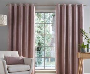 Corduroy Mauve Curtains