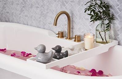 GOODBYE BATHROOM, HELLO SPA-THROOM