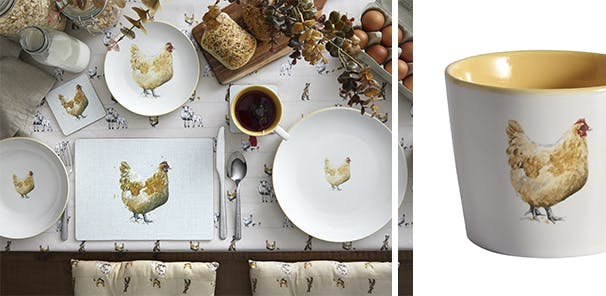 Get clucky with farmhouse style, from £2