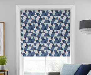 Abstract Triangles Blackout Roller Blind